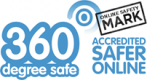 S60 degree safer online safety mark